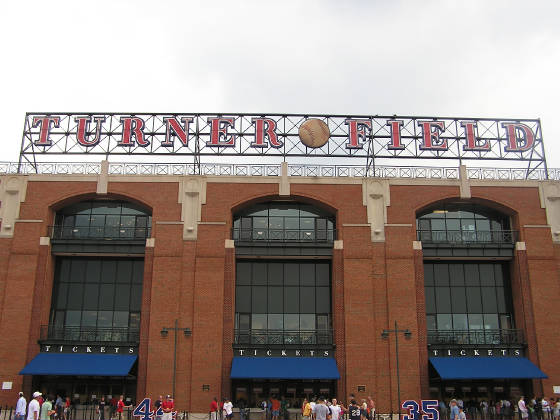 Turner Field - Closer - Atlanta, Ga