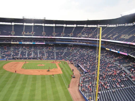 Turner Field from Right Field - Atlanta